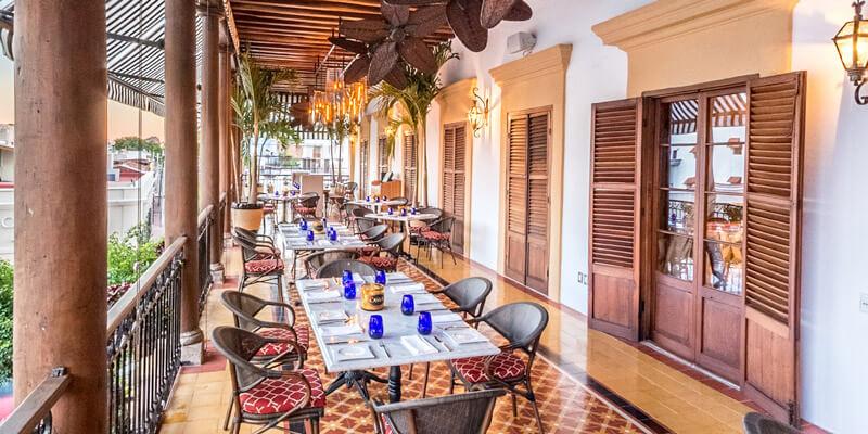 Restaurant Casa 46 en Mazatlan