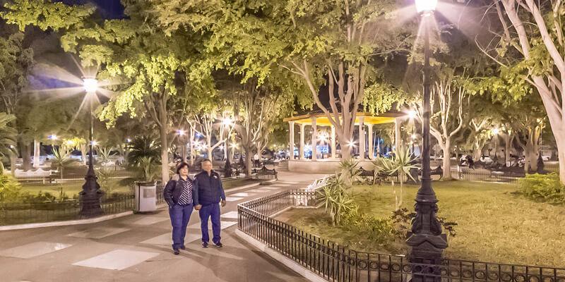 Plazuela 27 de Septiembre en Los Mochis