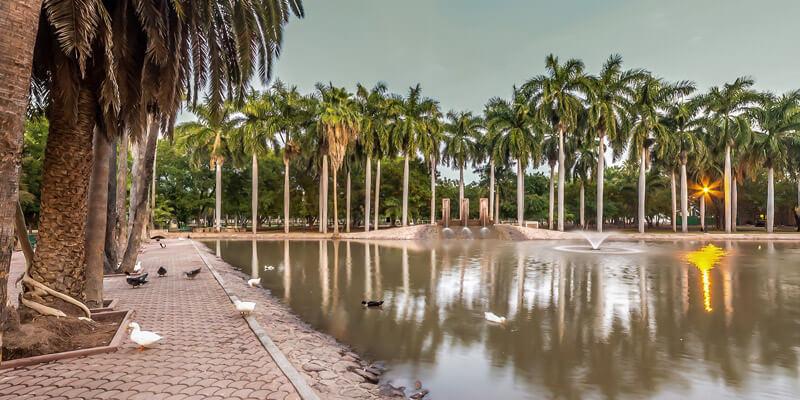 Parque Sinaloa en Los Mochis