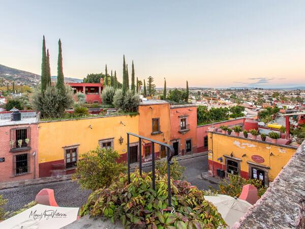 Mirador en San Miguel de Allende