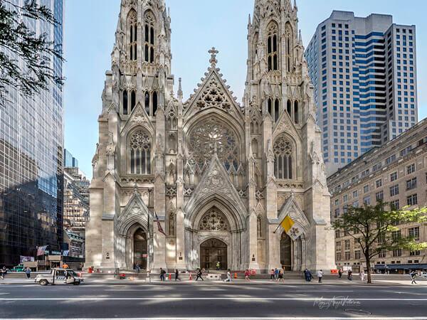 Exterior Catedral de San Patricio