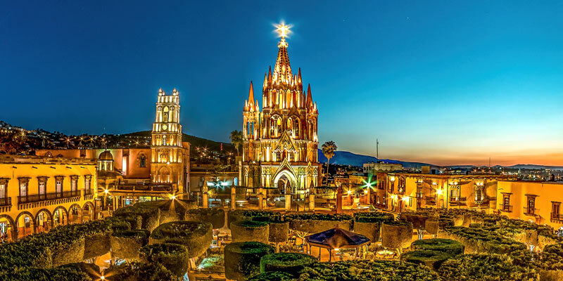 Parroquia de San Miguel de Allende, Guanajuato